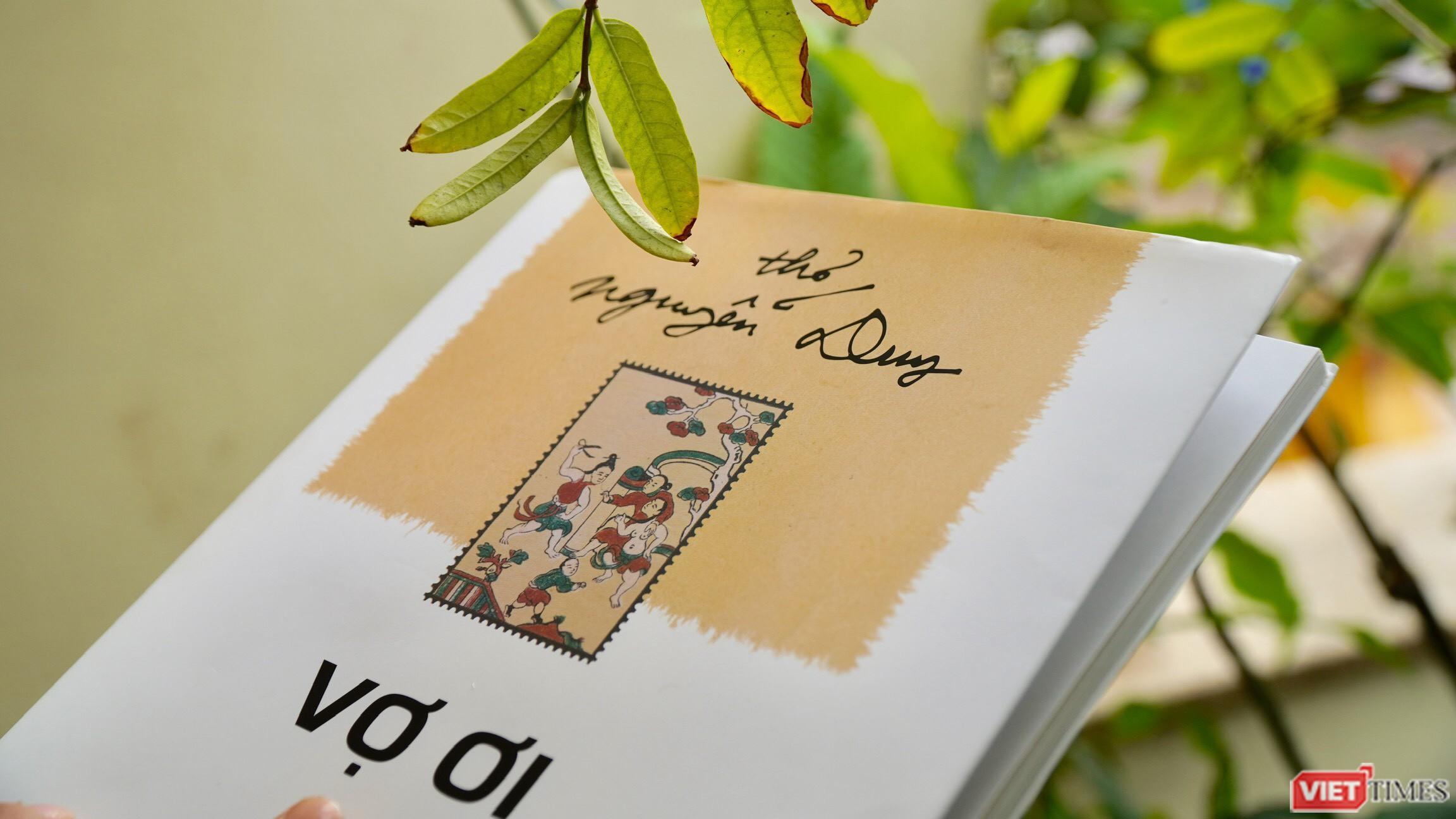 Nhà thơ Nguyễn Duy 'nịnh vợ' gây xúc động Ảnh 1