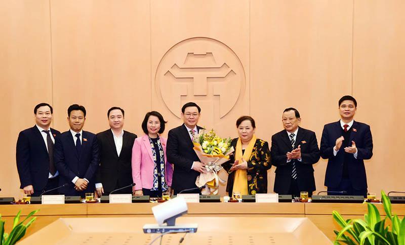 Phê chuẩn kết quả bầu Bí thư Thành ủy Vương Đình Huệ làm Trưởng đoàn Đại biểu Quốc hội TP Hà Nội