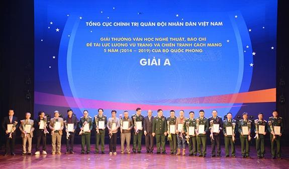 Báo Kinh tế & Đô thị đạt giải C giải thưởng văn học, nghệ thuật, báo chí Bộ Quốc phòng