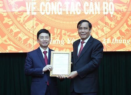Phó Chủ nhiệm VPCP Nguyễn Duy Hưng làm Phó Bí thư Thường trực Tỉnh ủy Hưng Yên