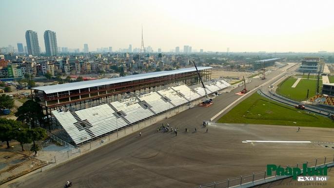 Toàn cảnh đường đua F1 đang gấp rút hoàn thành Ảnh 3