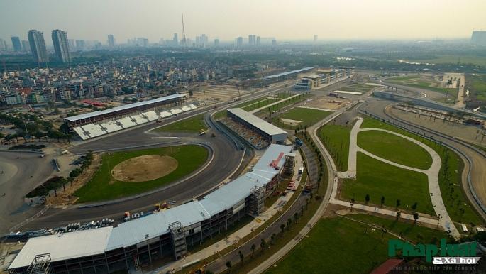 Toàn cảnh đường đua F1 đang gấp rút hoàn thành Ảnh 4