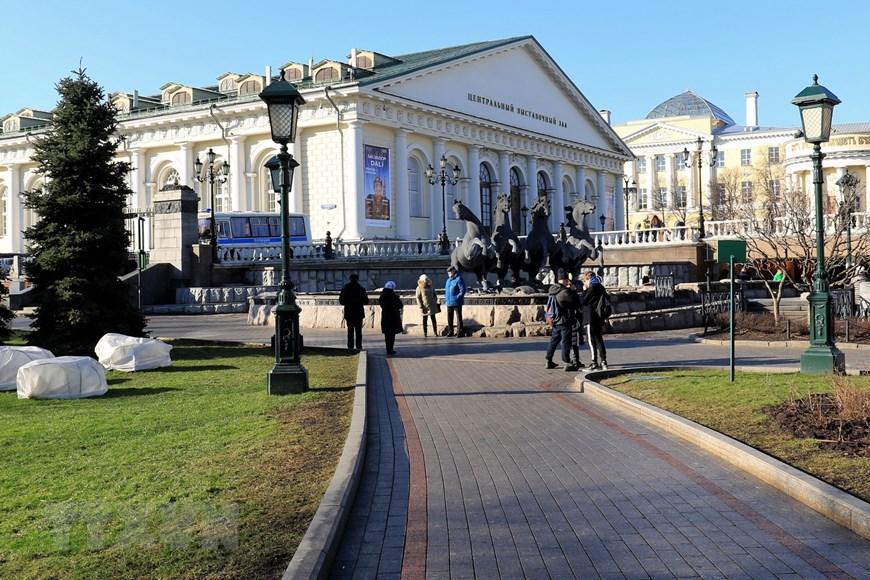 Moskva thanh bình hơn vì vắng du khách Trung Quốc Ảnh 6