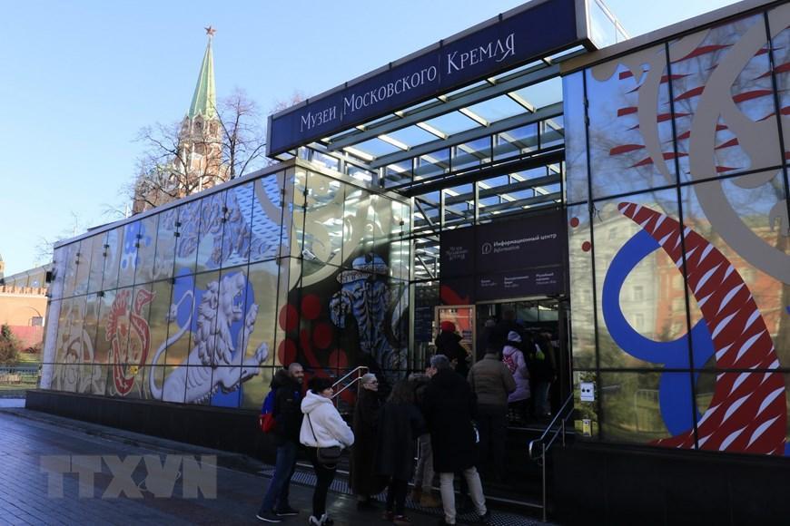 Moskva thanh bình hơn vì vắng du khách Trung Quốc Ảnh 4