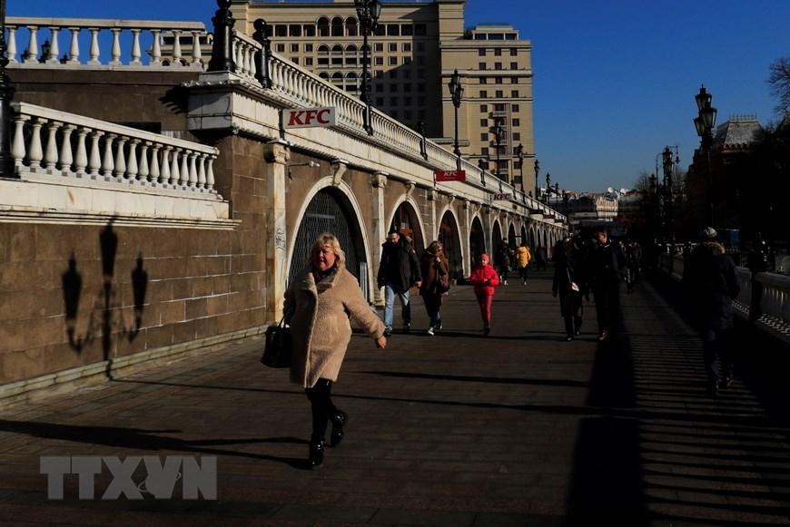 Moskva thanh bình hơn vì vắng du khách Trung Quốc Ảnh 3