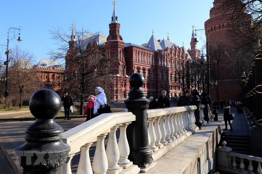 Moskva thanh bình hơn vì vắng du khách Trung Quốc Ảnh 5