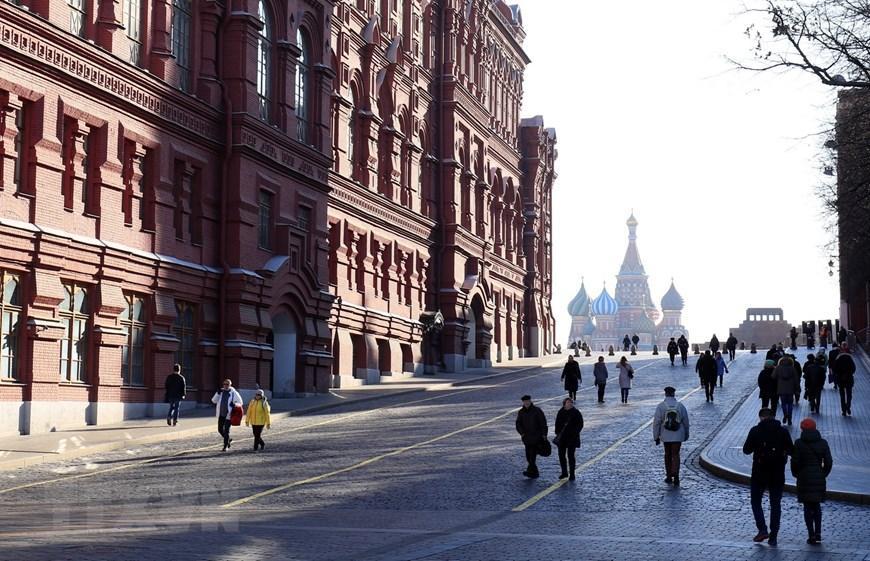Moskva thanh bình hơn vì vắng du khách Trung Quốc Ảnh 2