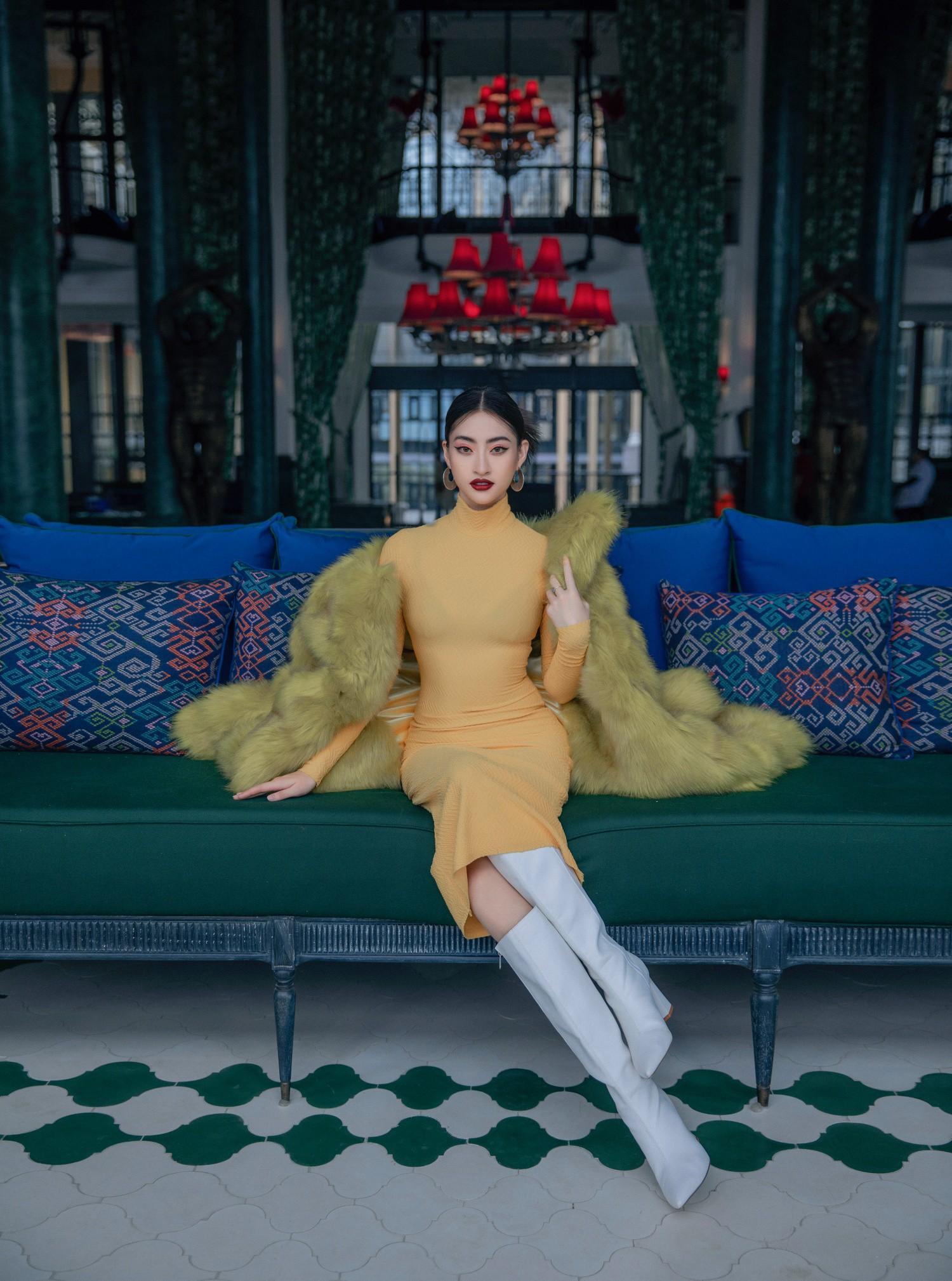Hoa hậu Lương Thùy Linh ngày càng lột xác sau 6 tháng đăng quang Ảnh 3