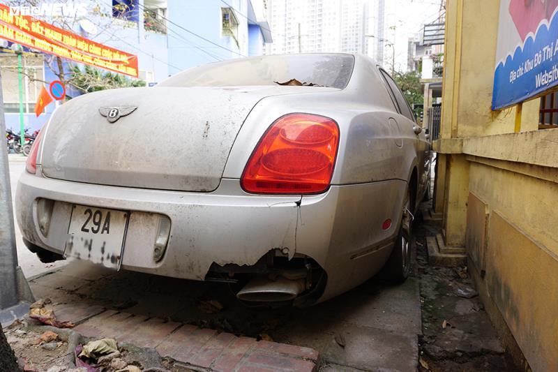 Xe sang Bentley Continental gần 20 tỷ đồng bị 'vứt xó' ở Hà Nội Ảnh 15