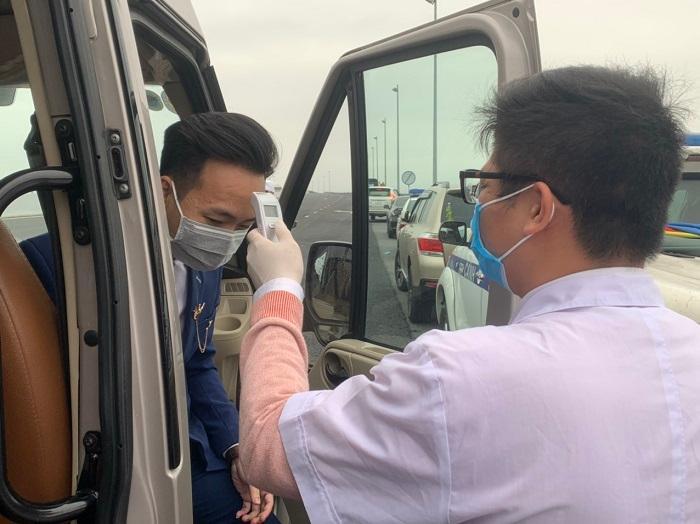 Quảng Ninh triển khai 8 chốt kiểm tra y tế tại các cửa ngõ Ảnh 1