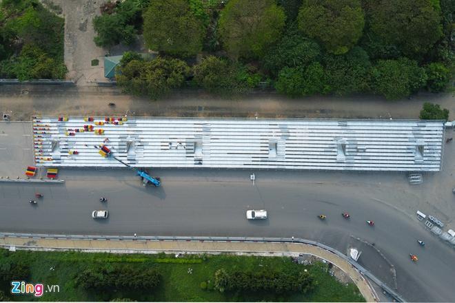 Tháo dỡ khán đài F1 Hà Nội vì tạm hoãn đua xe Ảnh 2