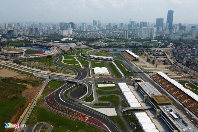 Tháo dỡ khán đài F1 Hà Nội vì tạm hoãn đua xe Ảnh 9