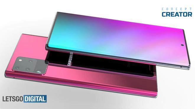 Samsung Galaxy Note 20+ lộ diện Ảnh 1