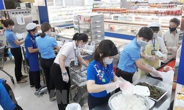 Doanh nghiệp chung tay cung cấp hơn 30.000 suất ăn cho các khu cách ly Ảnh 1