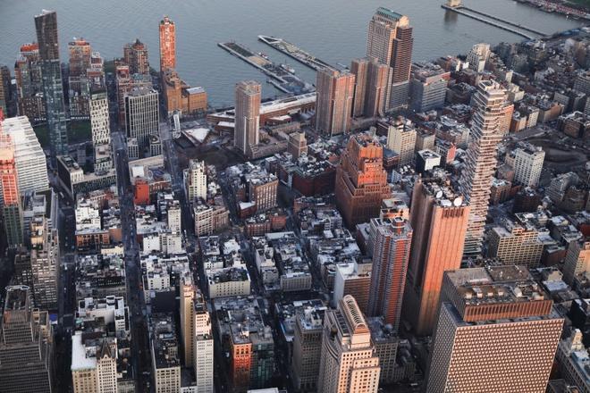 New York nhìn từ trên cao trong dịch Covid-19 Ảnh 7