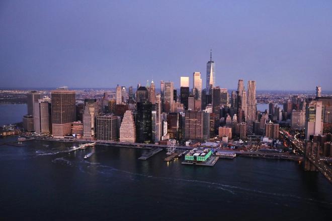 New York nhìn từ trên cao trong dịch Covid-19 Ảnh 11