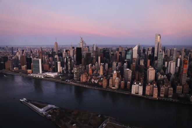 New York nhìn từ trên cao trong dịch Covid-19 Ảnh 6
