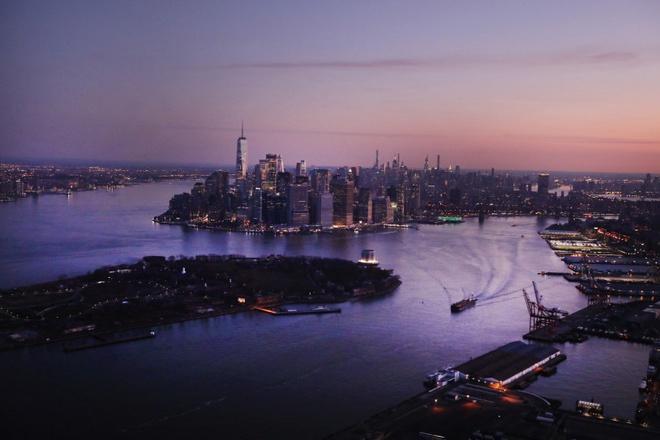 New York nhìn từ trên cao trong dịch Covid-19 Ảnh 3
