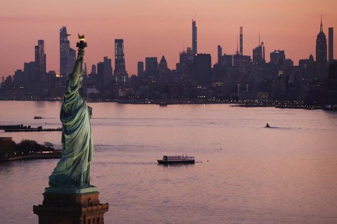 New York nhìn từ trên cao trong dịch Covid-19 Ảnh 1