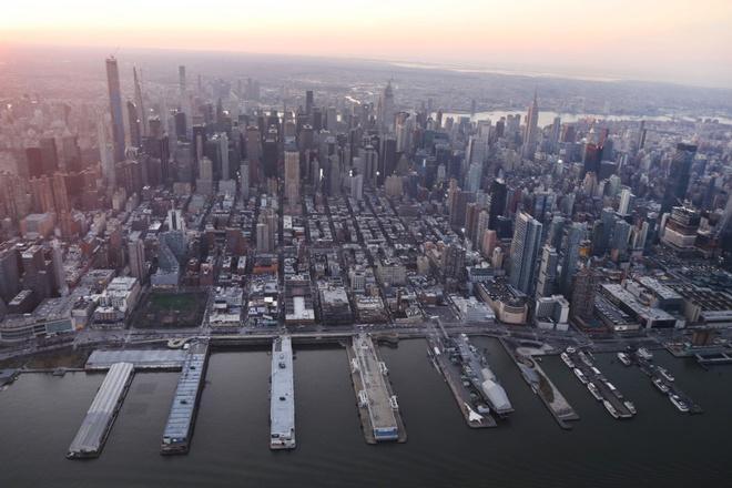 New York nhìn từ trên cao trong dịch Covid-19 Ảnh 9
