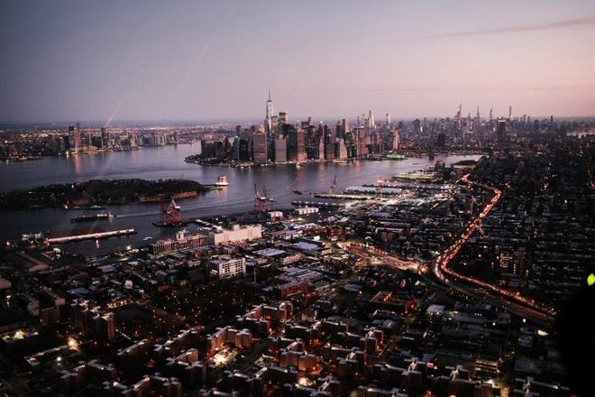 New York nhìn từ trên cao trong dịch Covid-19 Ảnh 12
