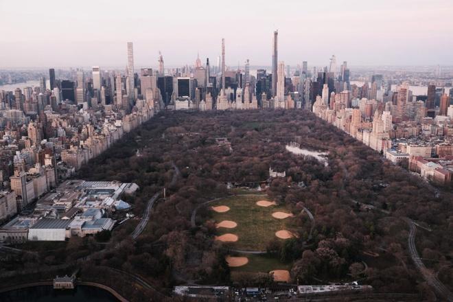 New York nhìn từ trên cao trong dịch Covid-19 Ảnh 5