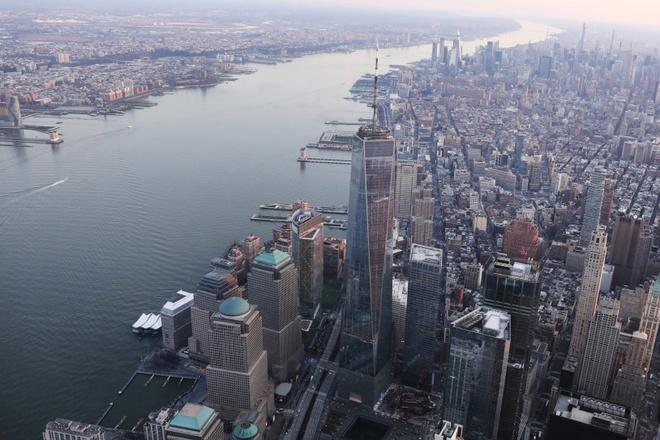 New York nhìn từ trên cao trong dịch Covid-19 Ảnh 10