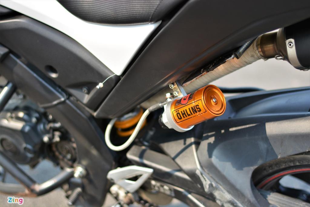 Yamaha TFX biến hóa thành Ducati Hypermotard độc nhất VN Ảnh 6