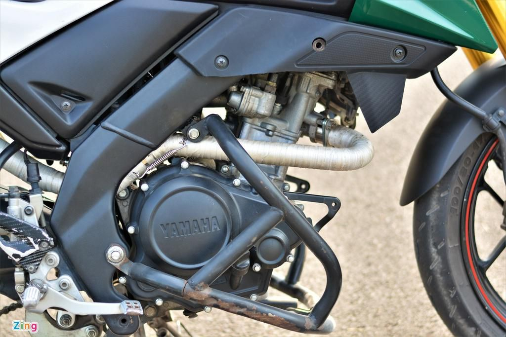 Yamaha TFX biến hóa thành Ducati Hypermotard độc nhất VN Ảnh 7