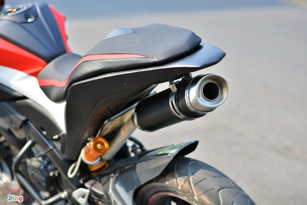 Yamaha TFX biến hóa thành Ducati Hypermotard độc nhất VN Ảnh 8