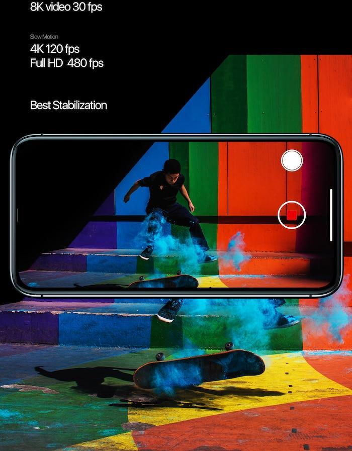 iPhone 12 Pro lột xác đầy ấn tượng với màn hình siêu tràn viền, 5 camera sau Ảnh 5