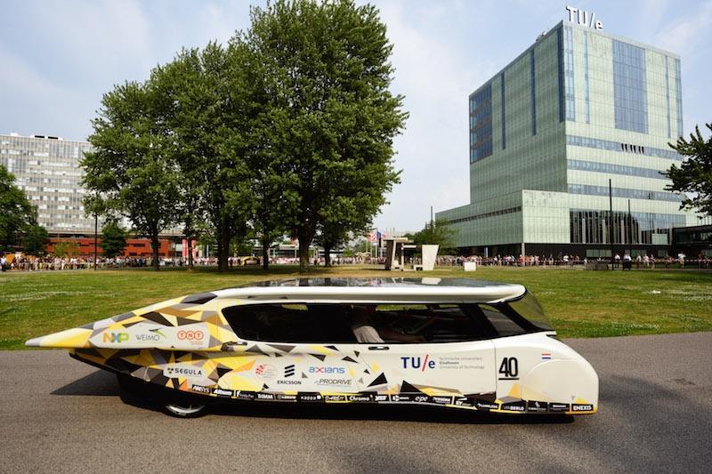 Những phương tiện giao thông sử dụng năng lượng mặt trời Ảnh 1