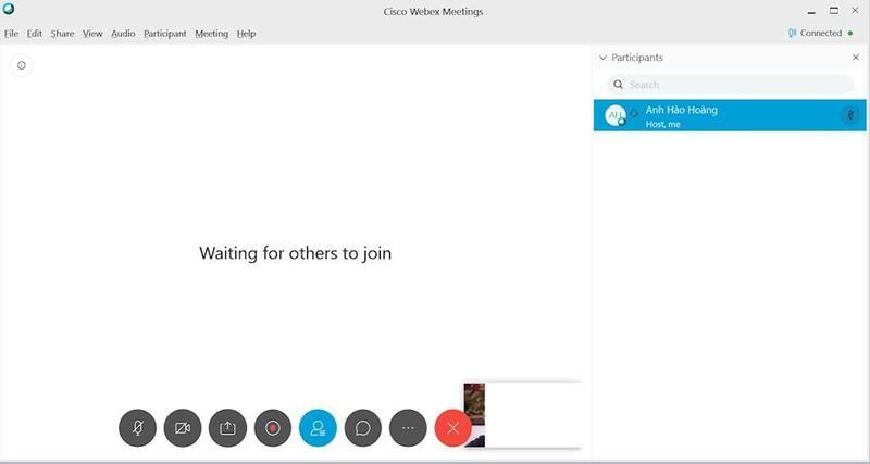Hướng dẫn họp trực tuyến bằng Webex bản cài trên máy tính và điện thoại Ảnh 2