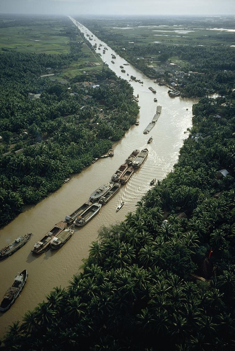 Ảnh màu đẹp về Đà Lạt, Nha Trang, vùng đồng bằng sông Cửu Long những năm 1960 Ảnh 9