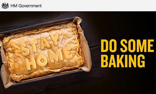 Văn phòng Thủ tướng Anh bị chỉ trích vì thông điệp 'nướng bánh tại nhà' Ảnh 1