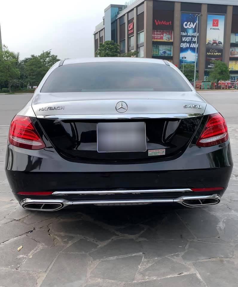 Dân chơi Hà Nội tự mình 'hô biến' Mercedes-Benz E 200 thành S 450 Maybach chỉ với 150 triệu đồng Ảnh 5