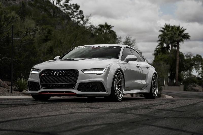 Audi RS7 độ thân rộng giá gần 100.000 USD Ảnh 1