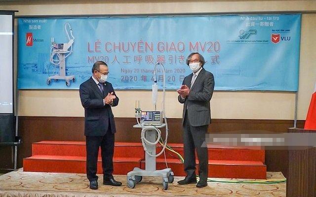 Metran bàn giao hai máy thở MV20 đầu tiên cho Việt Nam Ảnh 1
