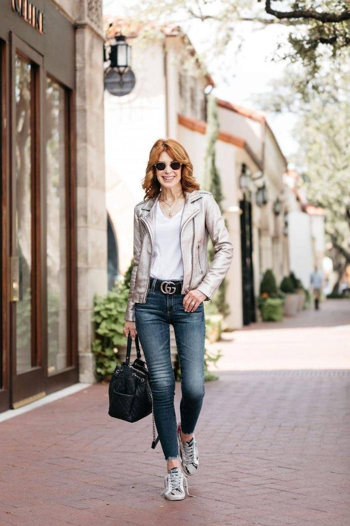 5 cách mix quần jeans đi làm thật thanh lịch cho ngày tới công sở sau khi hết cách ly xã hội Ảnh 10