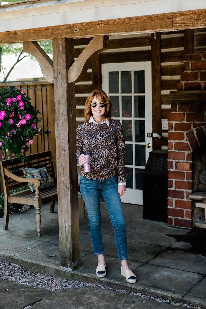 5 cách mix quần jeans đi làm thật thanh lịch cho ngày tới công sở sau khi hết cách ly xã hội Ảnh 15