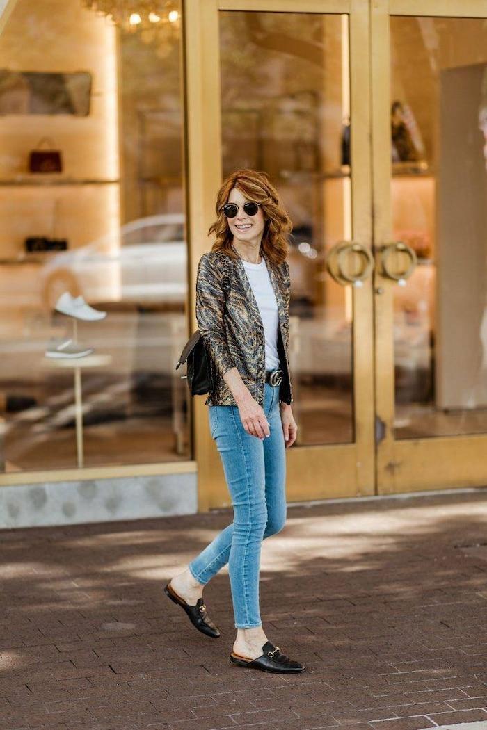 5 cách mix quần jeans đi làm thật thanh lịch cho ngày tới công sở sau khi hết cách ly xã hội Ảnh 5
