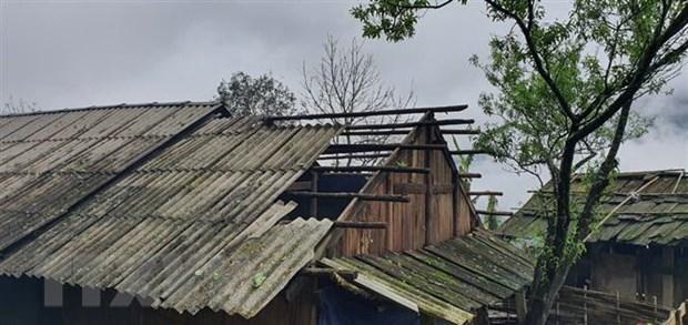 Mưa đá, dông lốc gây nhiều thiệt hại ở các tỉnh miền núi phía Bắc Ảnh 1