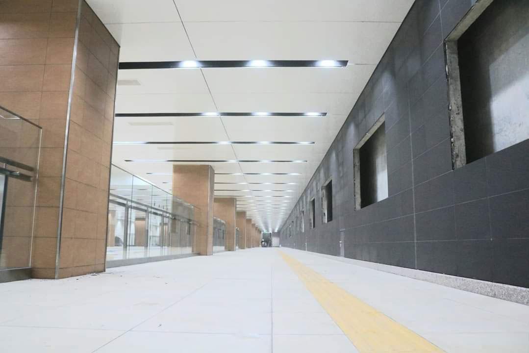 Những hình ảnh đầu tiên về ga ngầm tuyến Bến Thành – Suối Tiên Ảnh 3