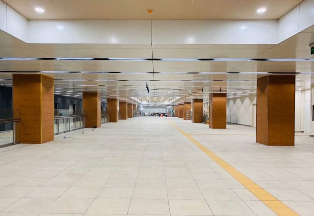 Những hình ảnh đầu tiên về ga ngầm tuyến Bến Thành – Suối Tiên Ảnh 2