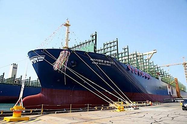 Tàu container lớn nhất thế giới HMM Algeciras đi vào hoạt động Ảnh 1