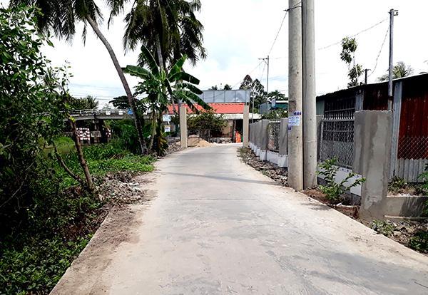 An toàn giao thông ở xã nông thôn mới Ảnh 1