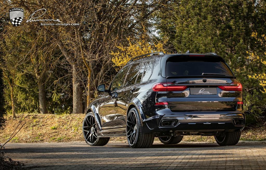 BMW X7 cơ bắp hơn với bản độ thân rộng Ảnh 6