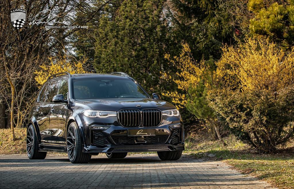BMW X7 cơ bắp hơn với bản độ thân rộng Ảnh 8