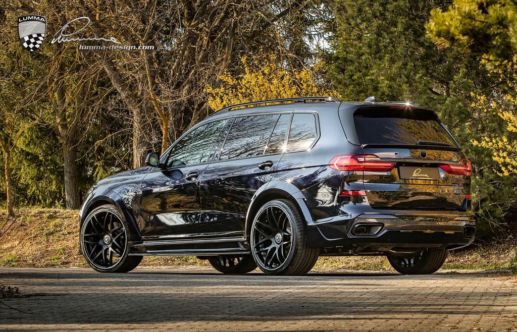 BMW X7 cơ bắp hơn với bản độ thân rộng Ảnh 3