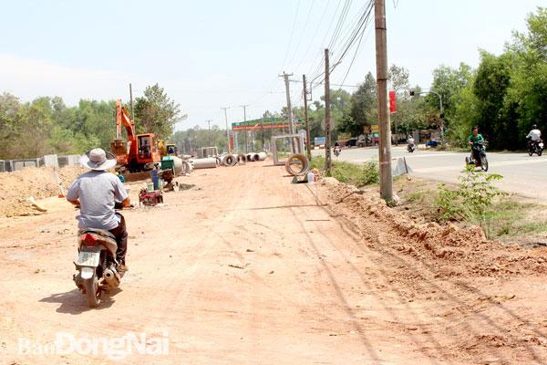 Huyện Nhơn Trạch có 32 dự án giao thông mới Ảnh 1
